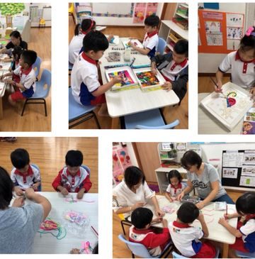 SSDB Activities- Batik Painting & Dragonfly Keychains
