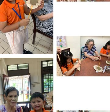 Spreading Happiness; Visiting Golden Age Baptist Home