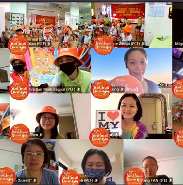 """Start Small Dream Big Virtual Launch Party 2021 """"Healthy Heart, Healthy Body and Healthy Mind"""""""