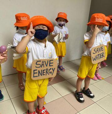SSDB: Zero Wastewith Sunflower Preschool @ Punggol Field Walk