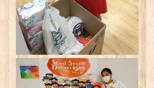 PCF Sparkletots Preschool @ Jurong Spring Blk 528 (DS) Community Project with Jamiyah Children's Home (Darul Ma'wa)