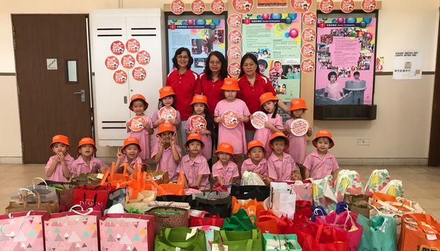SSDB 2017 @ Newton Kindergarten - Love, Respect and Compassionto the Elderly