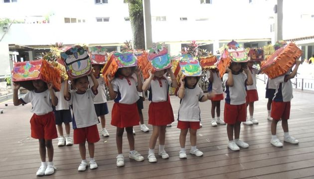PCF Sparkletots preschool @ KG 462/3 Celebrating CNY at Peace Connect