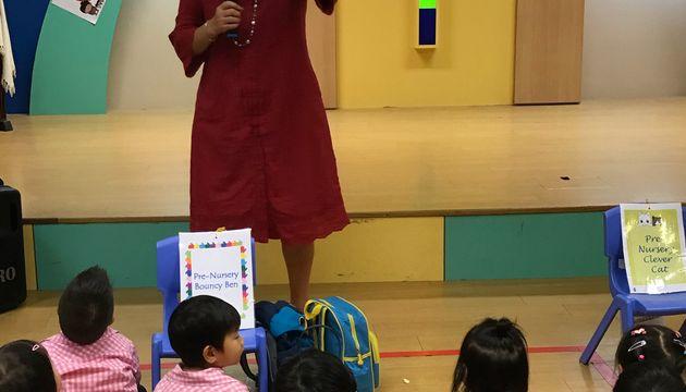 SSDB@Newton Kindergarten- Love & Share Hongbao Charity Drive