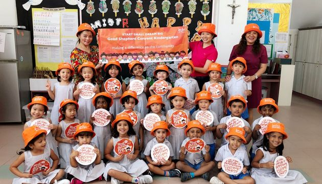 Good Shepherd Convent Kindergarten - Launching of project @ NKF Discovery Centre
