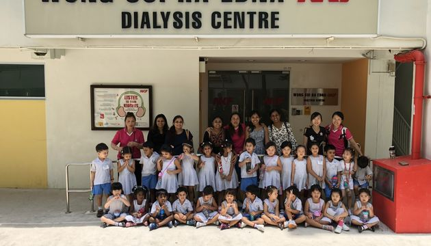 Good Shepherd Convent Kindergarten -NKF B.L.E.S.S Project Day2 (6th March 2018)
