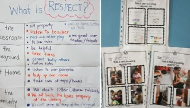 Values: Respect, Good Manners & Kindness