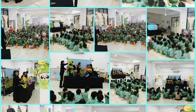 "SG Kindness ""Make A Difference"" Puppet Show @ Mini World"