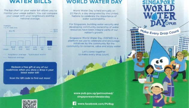 "Cherie Hearts Kidz Campus @Pasir Ris  Elias Mall  - Event : ""Singapore World Water Day 2018 (SWWD 2018)"" in March 2018"