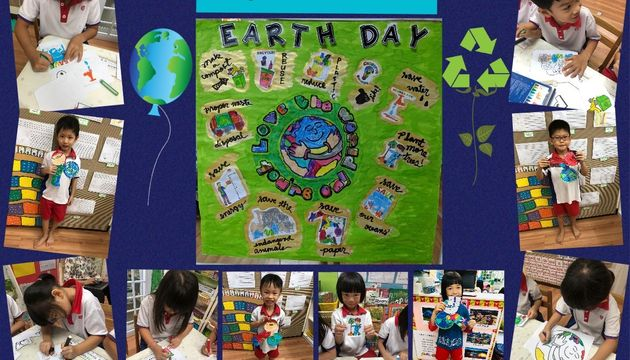 SSDB launch at PCF Preschool @ Kampong Chai Chee BLK 424 - Earth Day Celebration