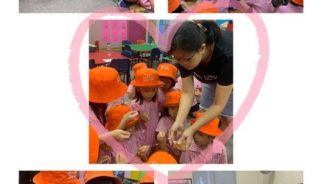 SSDB 2019 @ Newton Kindergarten K2 - 'Bee' ready to give!