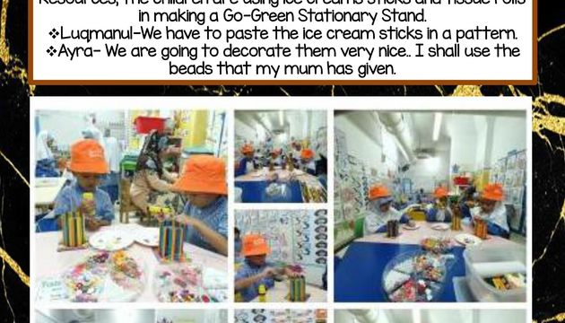 Let's Recycle Together!-K1 and K2
