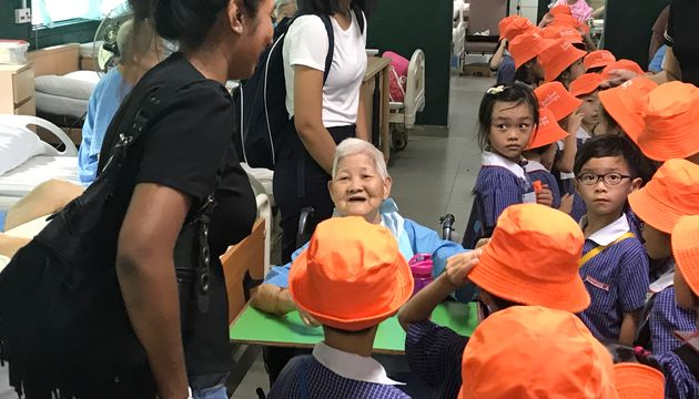 Big hearts for the Elderly