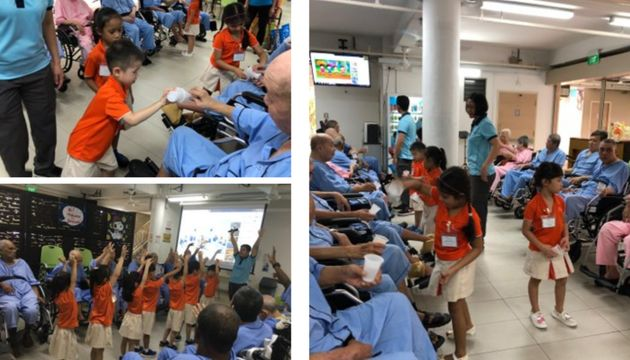 23 April: K2 Generosity's visit to All Saints Home (MFS Sengkang West 2)
