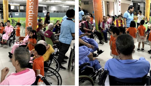 14 May: K2 Cooperation's visit to All Saints Home (MFS Sengkang West 2)
