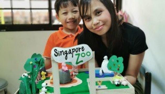Our Singapore Icons with Recyclables