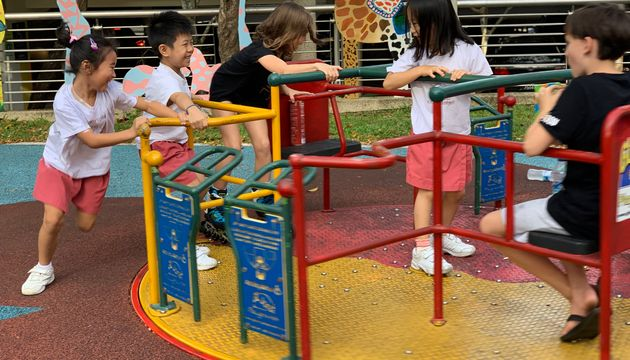 Embrace: Field Trip to an Inclusive Playground & People-watching at a Hawker Centre