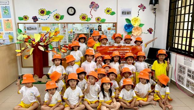 Sunflower Preschool @ Bedok South's SSDB Virtual Launch and Earth Day Celebration