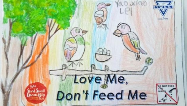 Love Me Don't Feed Me!