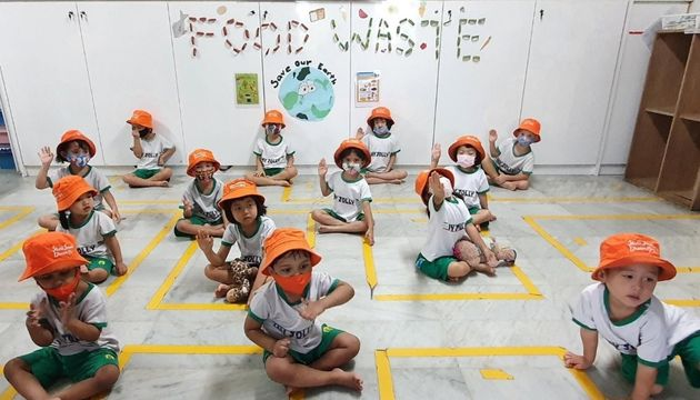 My Jolly Educare SSDB 2021: Food Waste, Save our Earth Launch Party!