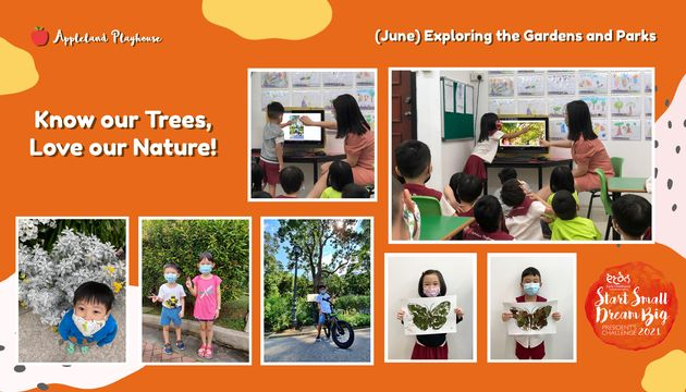 Exploring the Gardens and Parks: Know our Trees, Love our Nature!