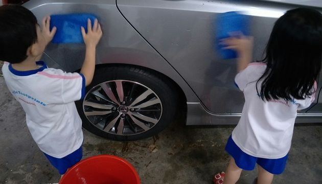 Car wash @ LFP Balestier